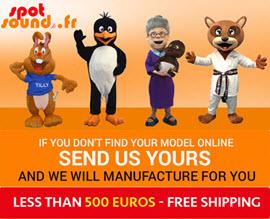 Votre mascotte personnalisée
